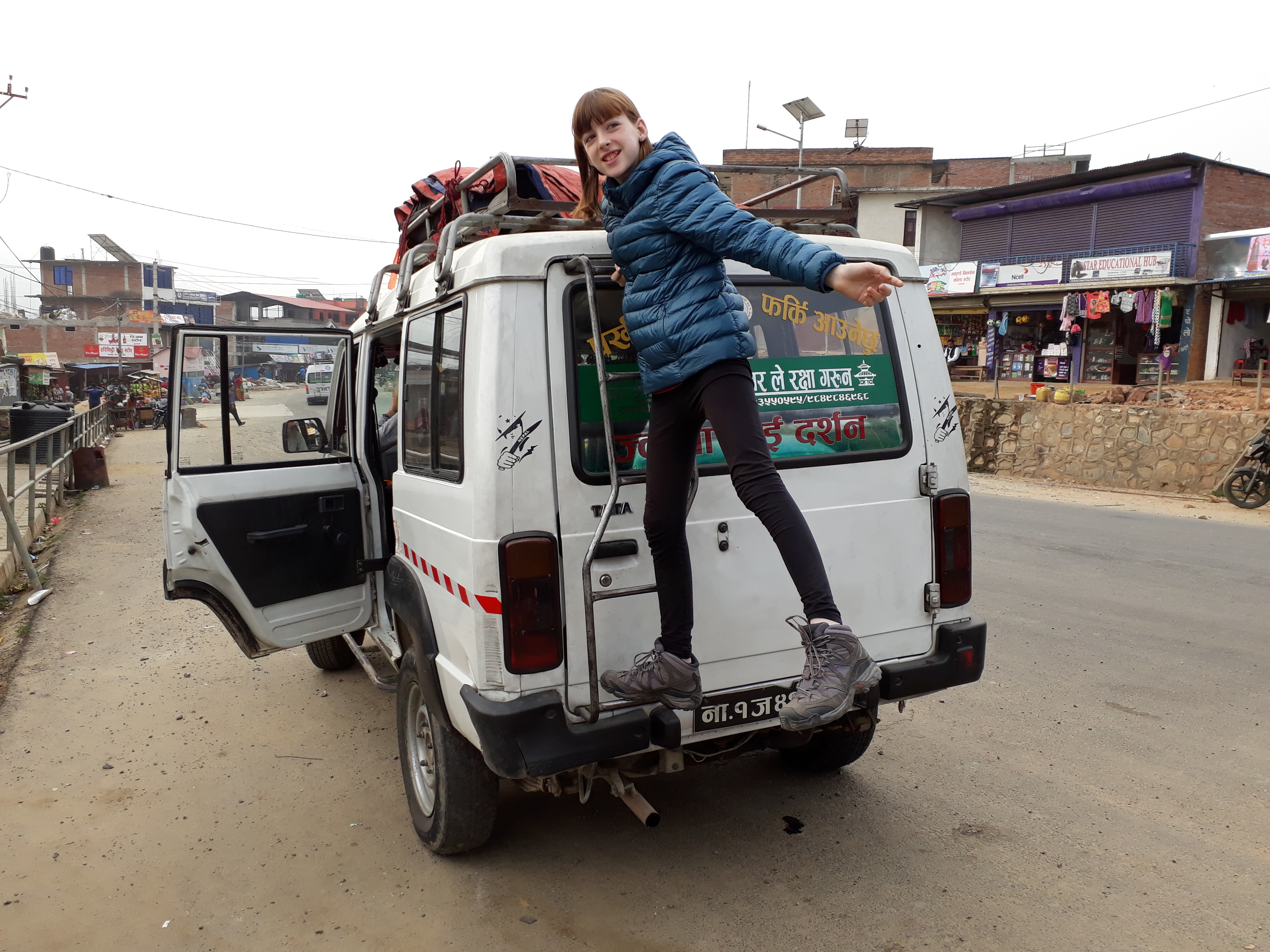 Family Everest Base Camp Trek - Our Jeep To Salleri