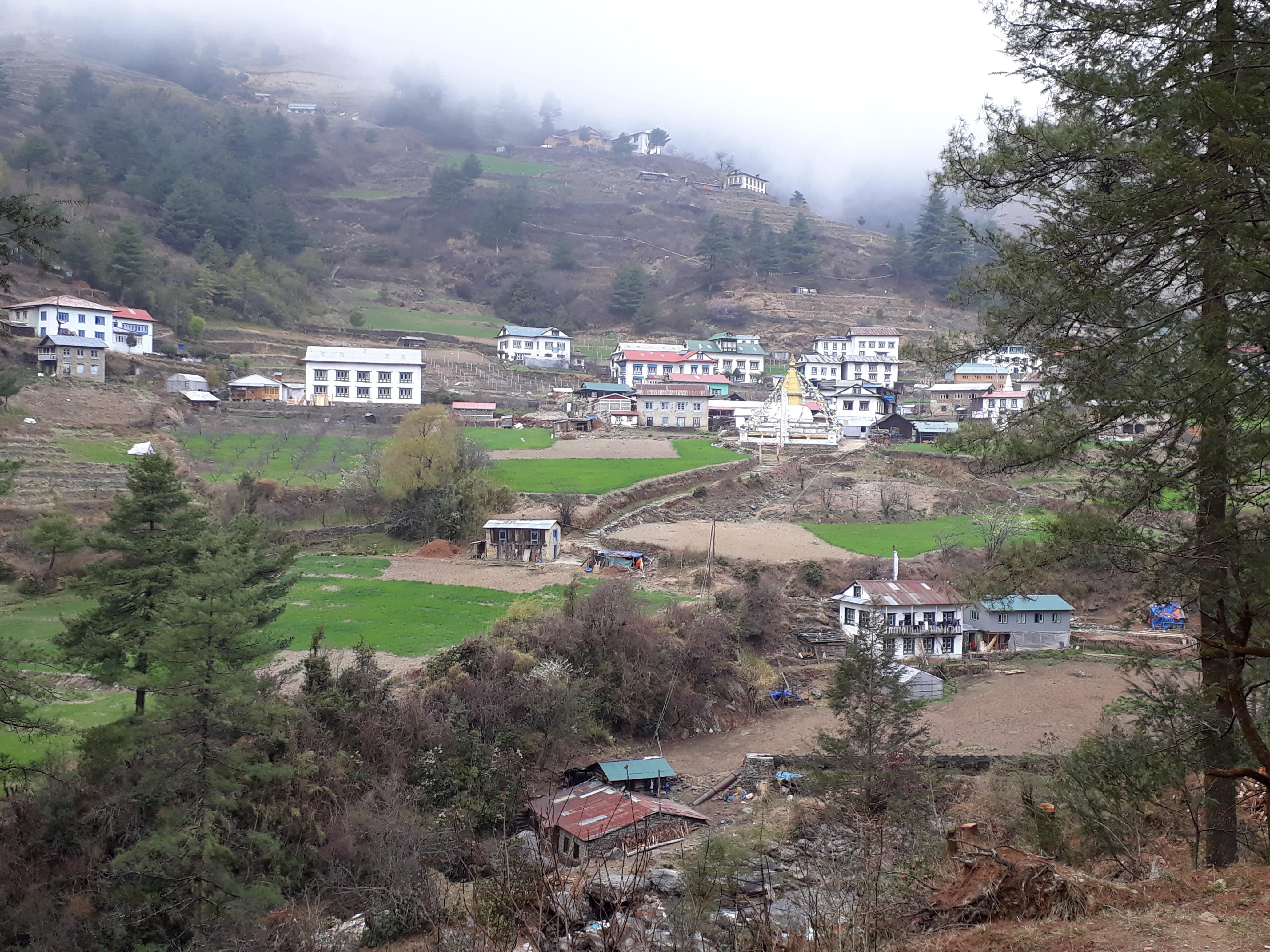 Everest Base Camp Trek - A Himalayan Village