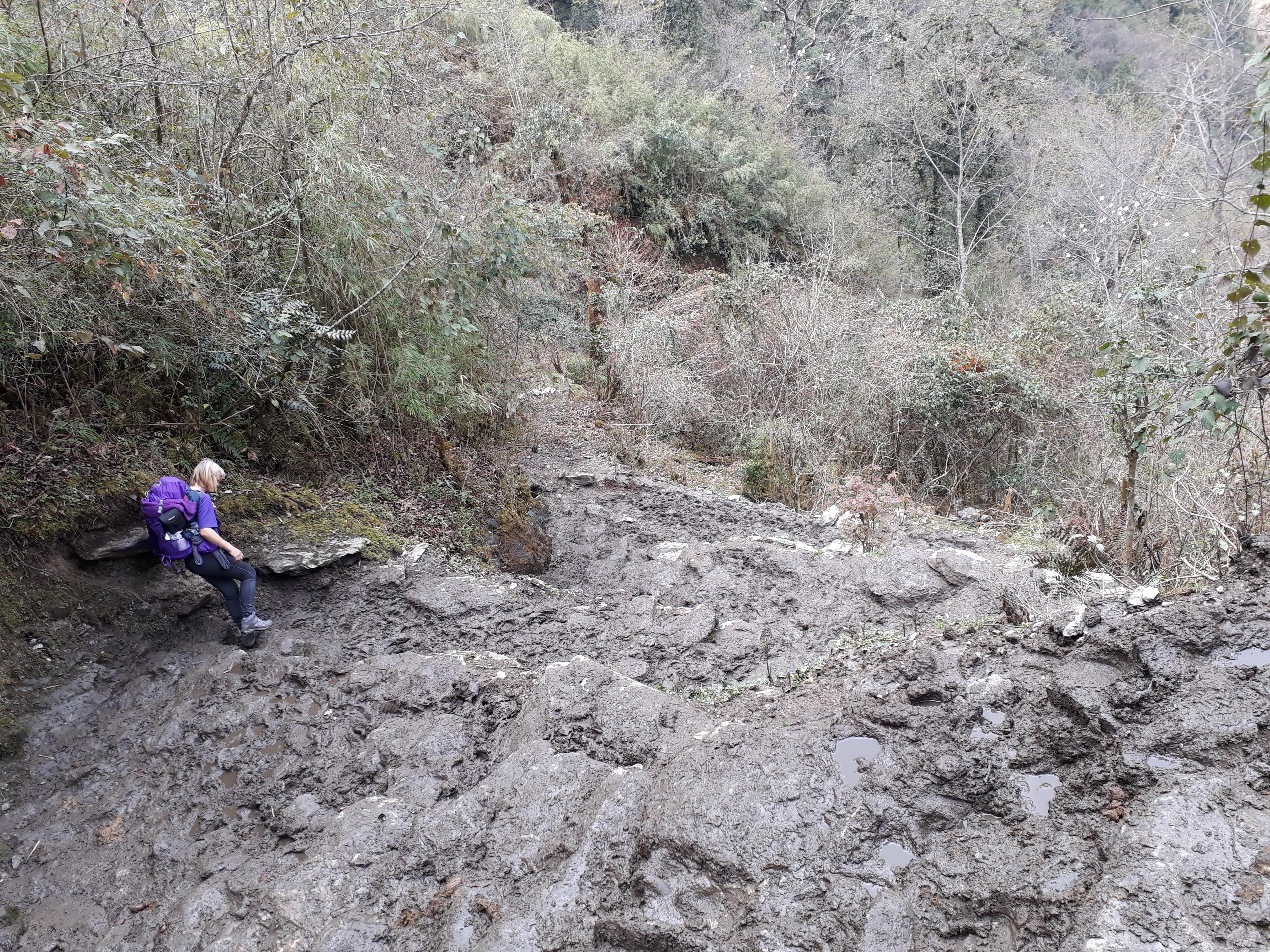Everest Base Camp Trek - The Muddy Trail
