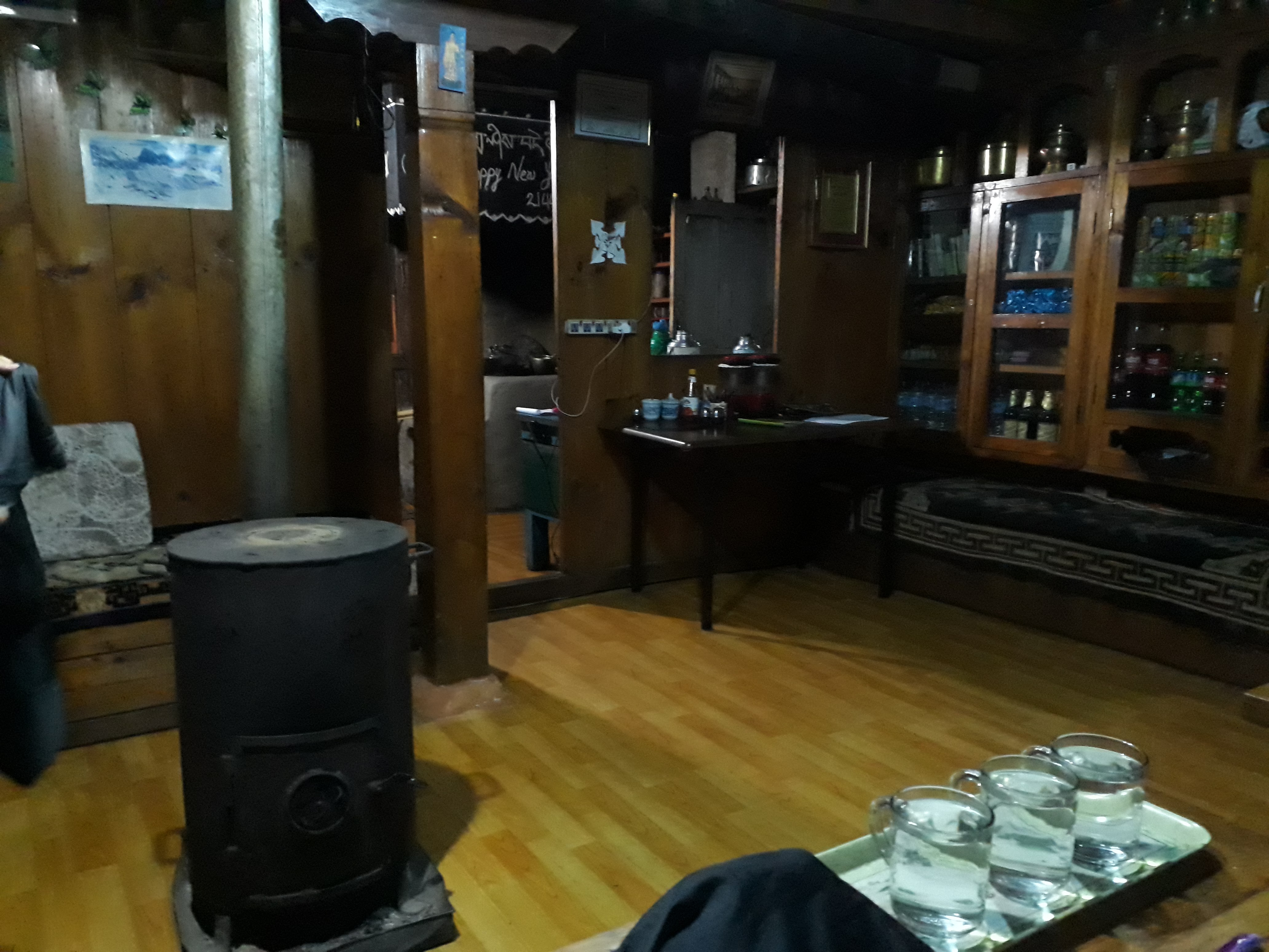 Everest base camp on a budget - Dining Room