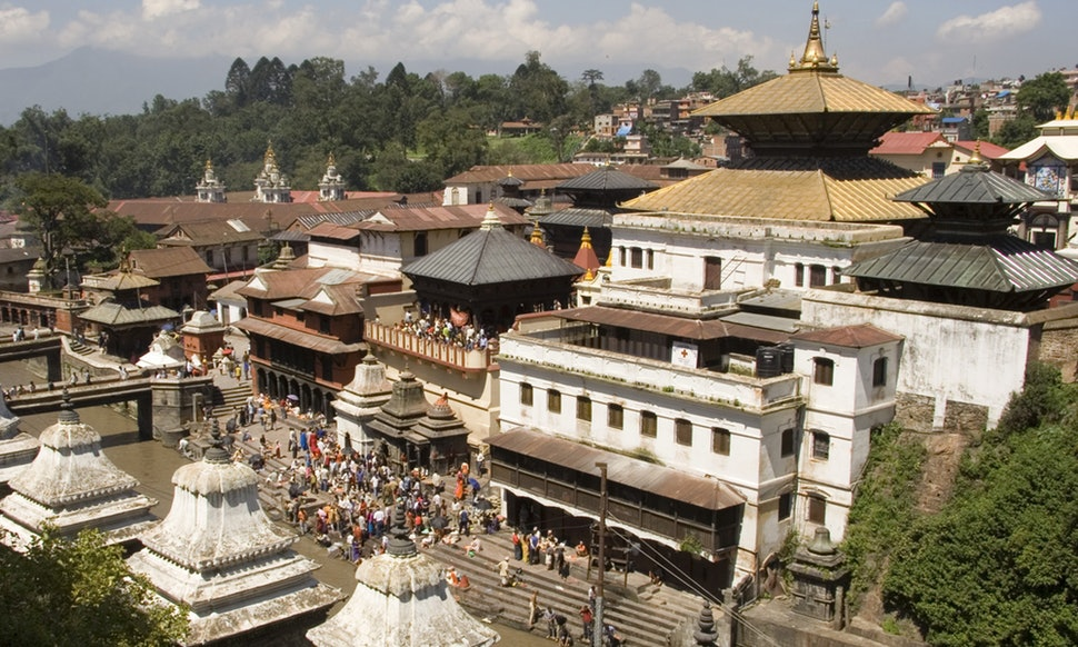 Nepal family travel - Pashupatinath Temple
