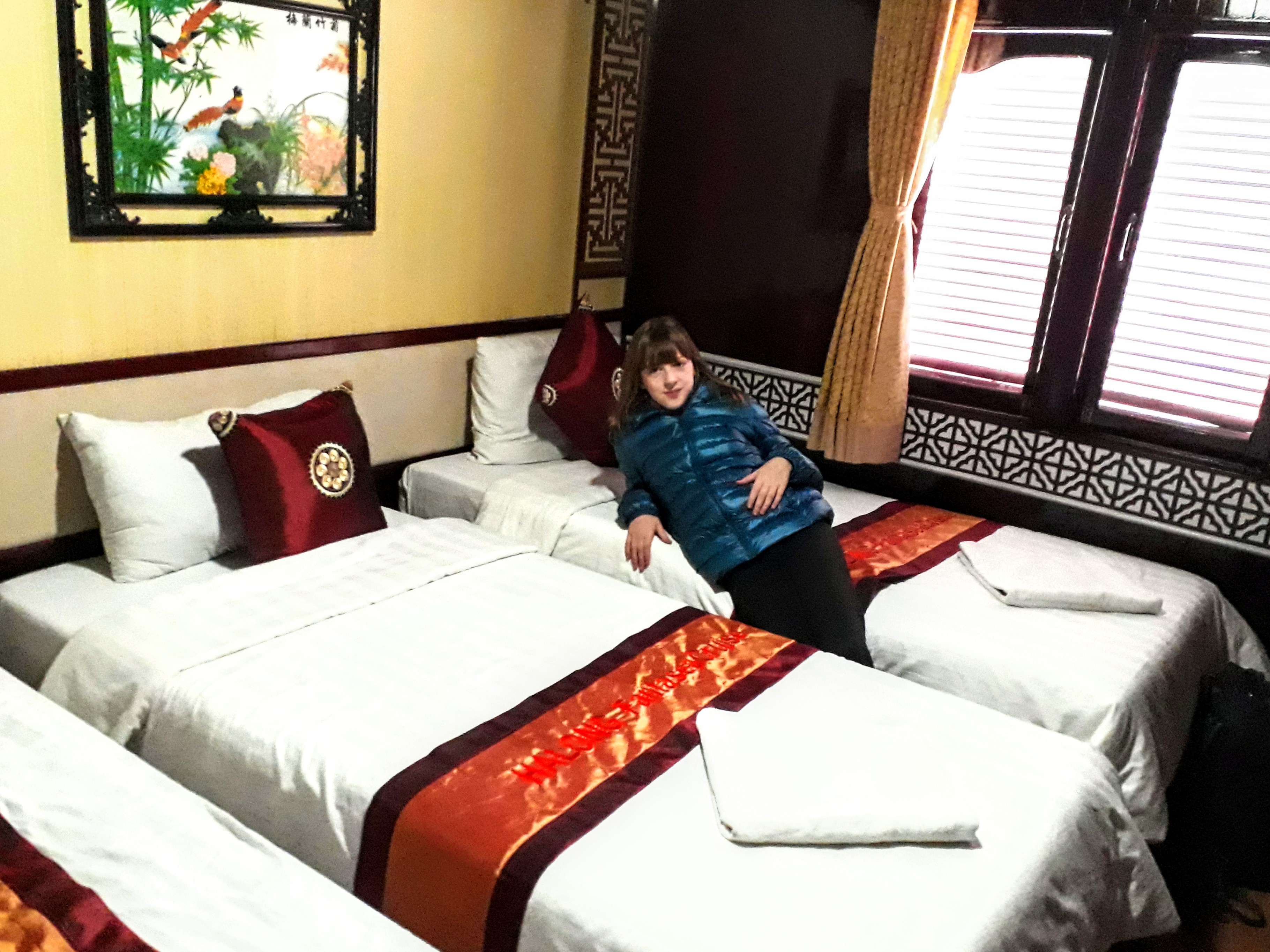 Halong Bay - Our Room On The Boat