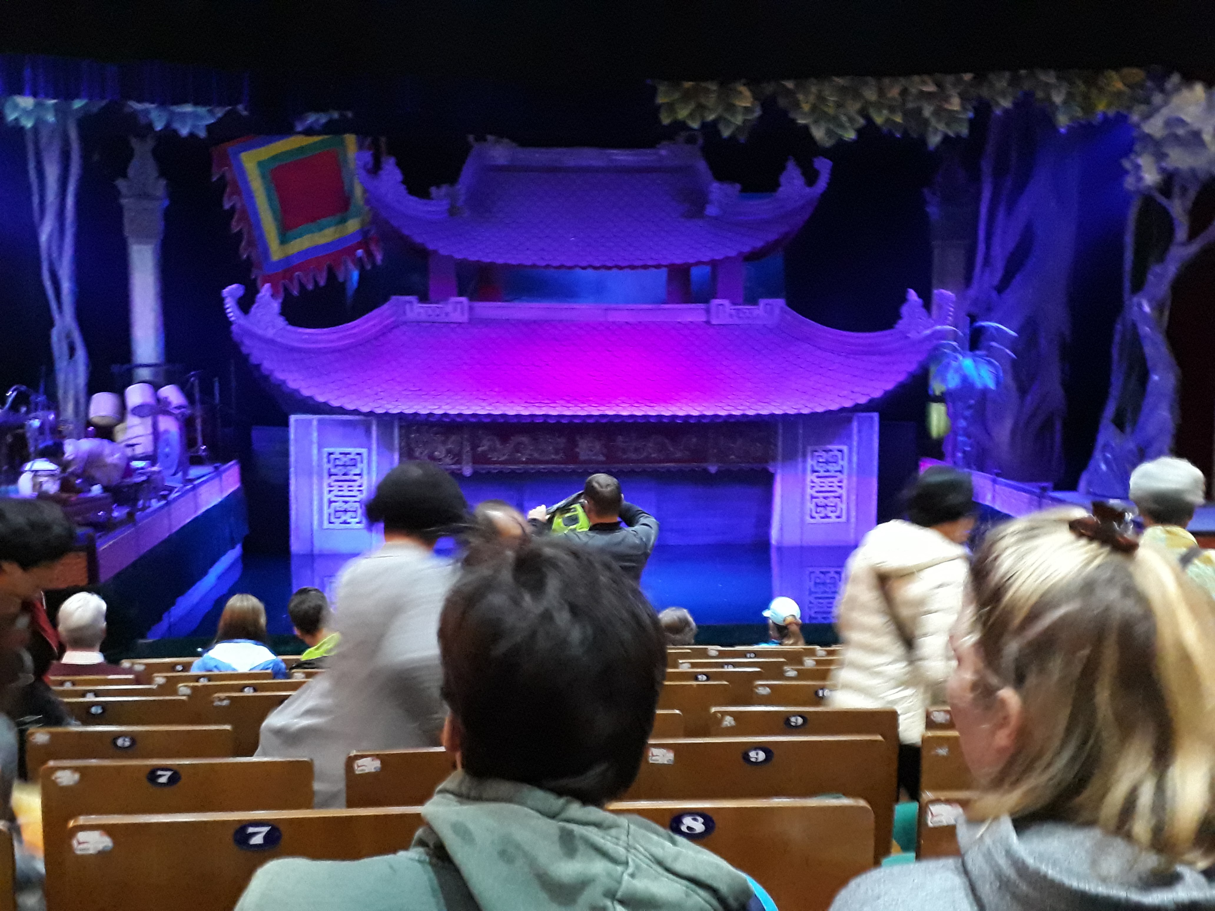 Things to do in Hanoi -Thang Long Water Puppet Theatre