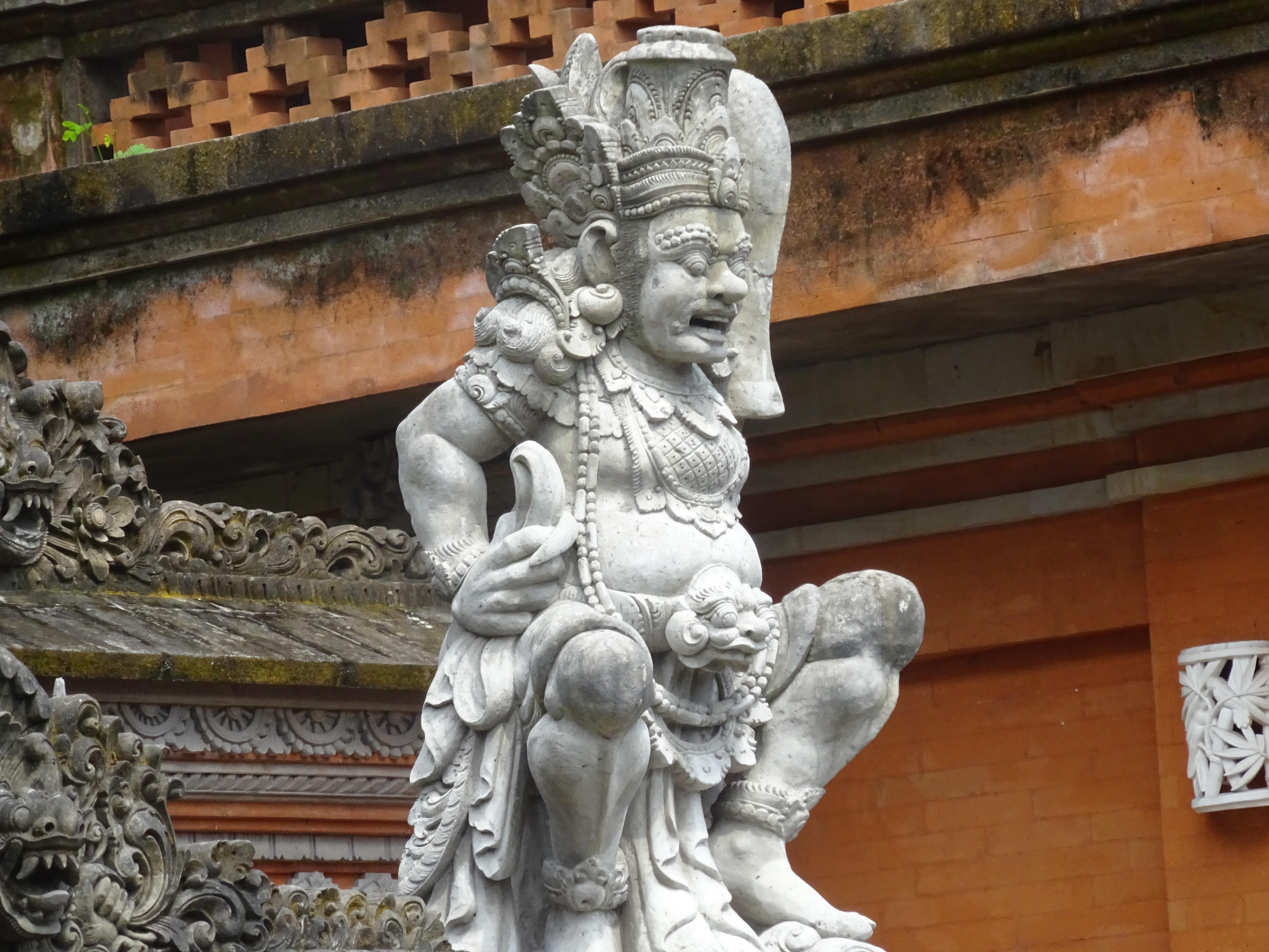 What is Ubud Bali Like - Local stone Images