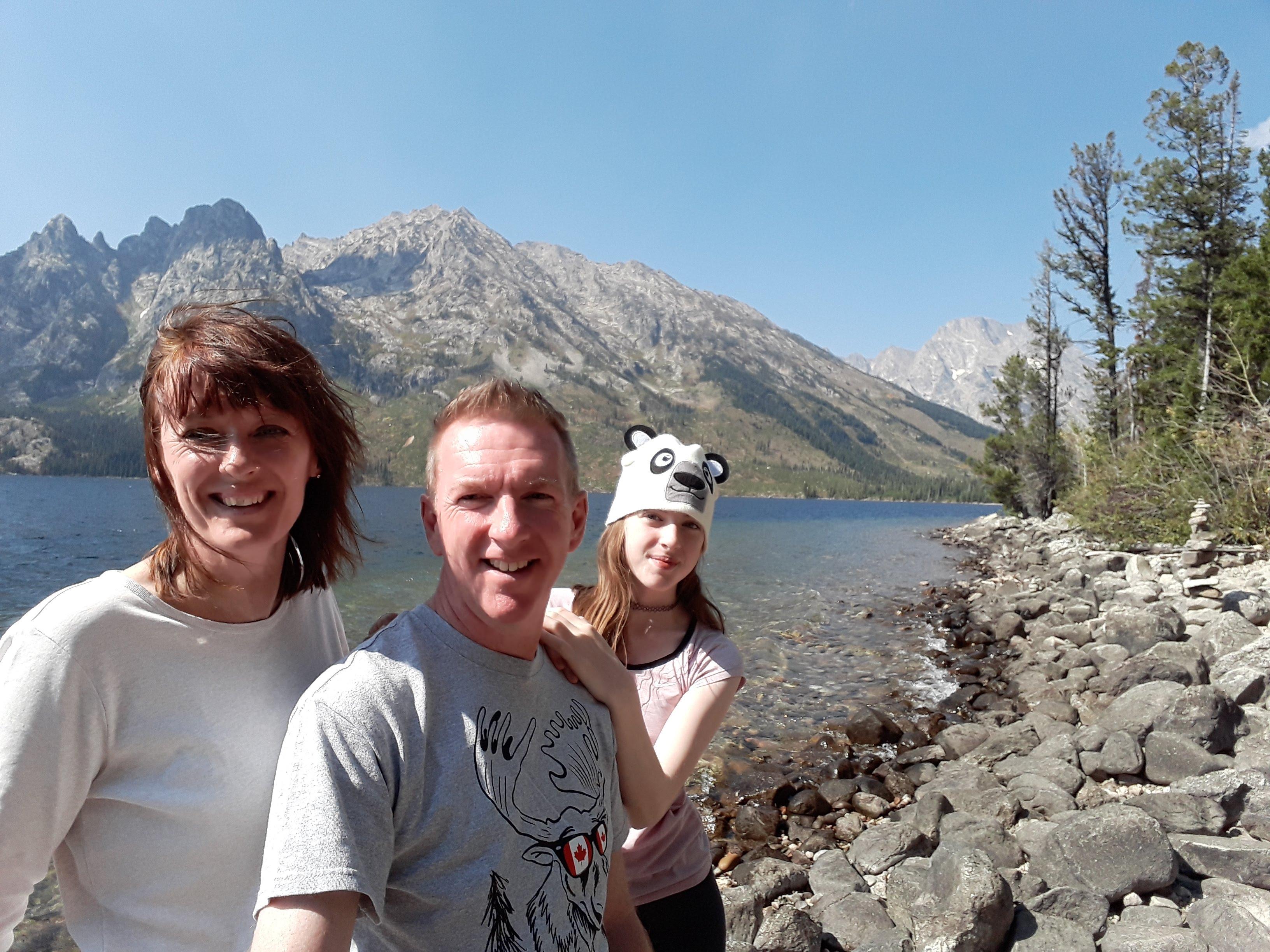 Yellowstone Park, By Jackson Lake