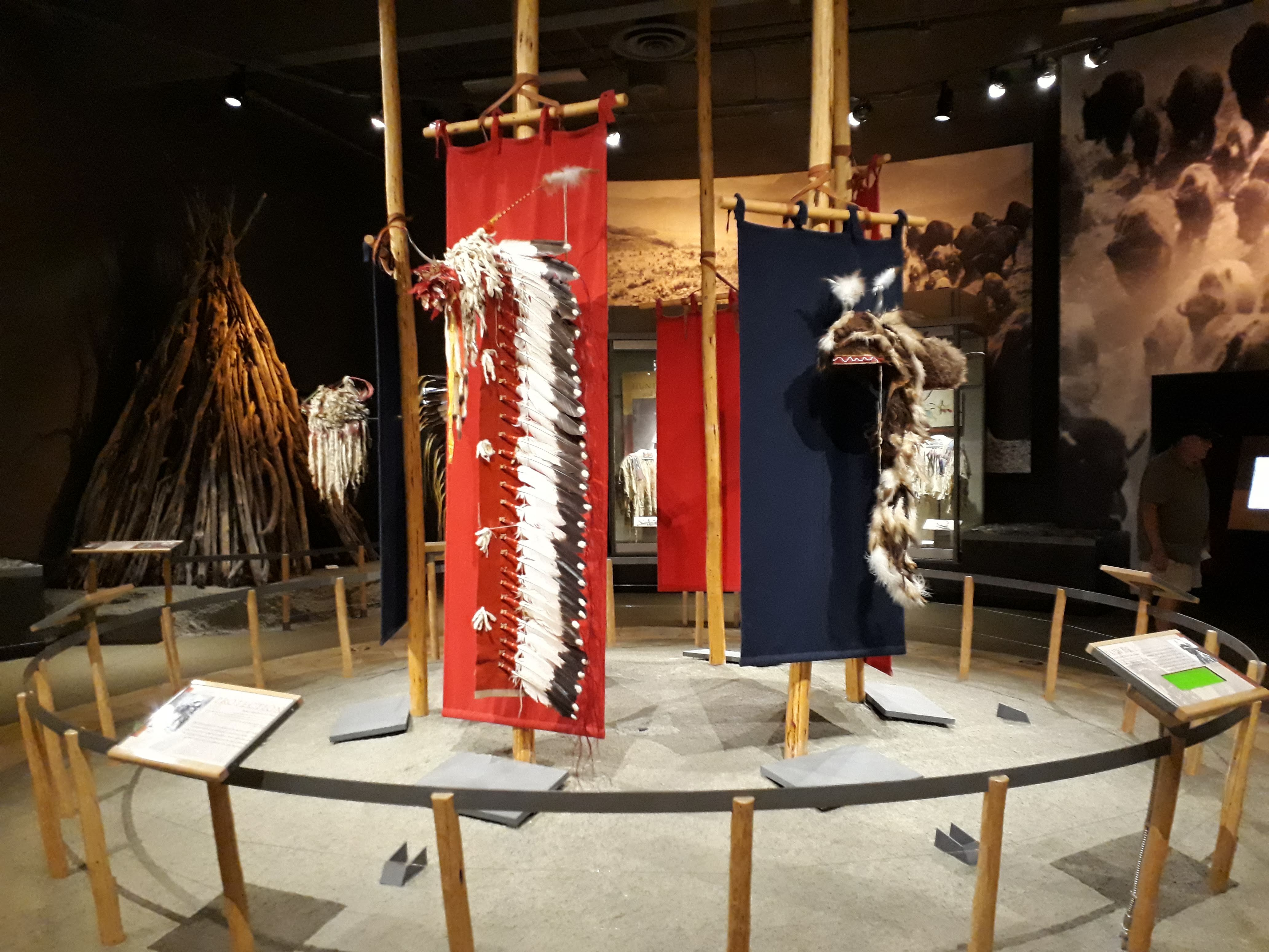 Cody - Wyoming - Exhibit In The Plains Indian Museum
