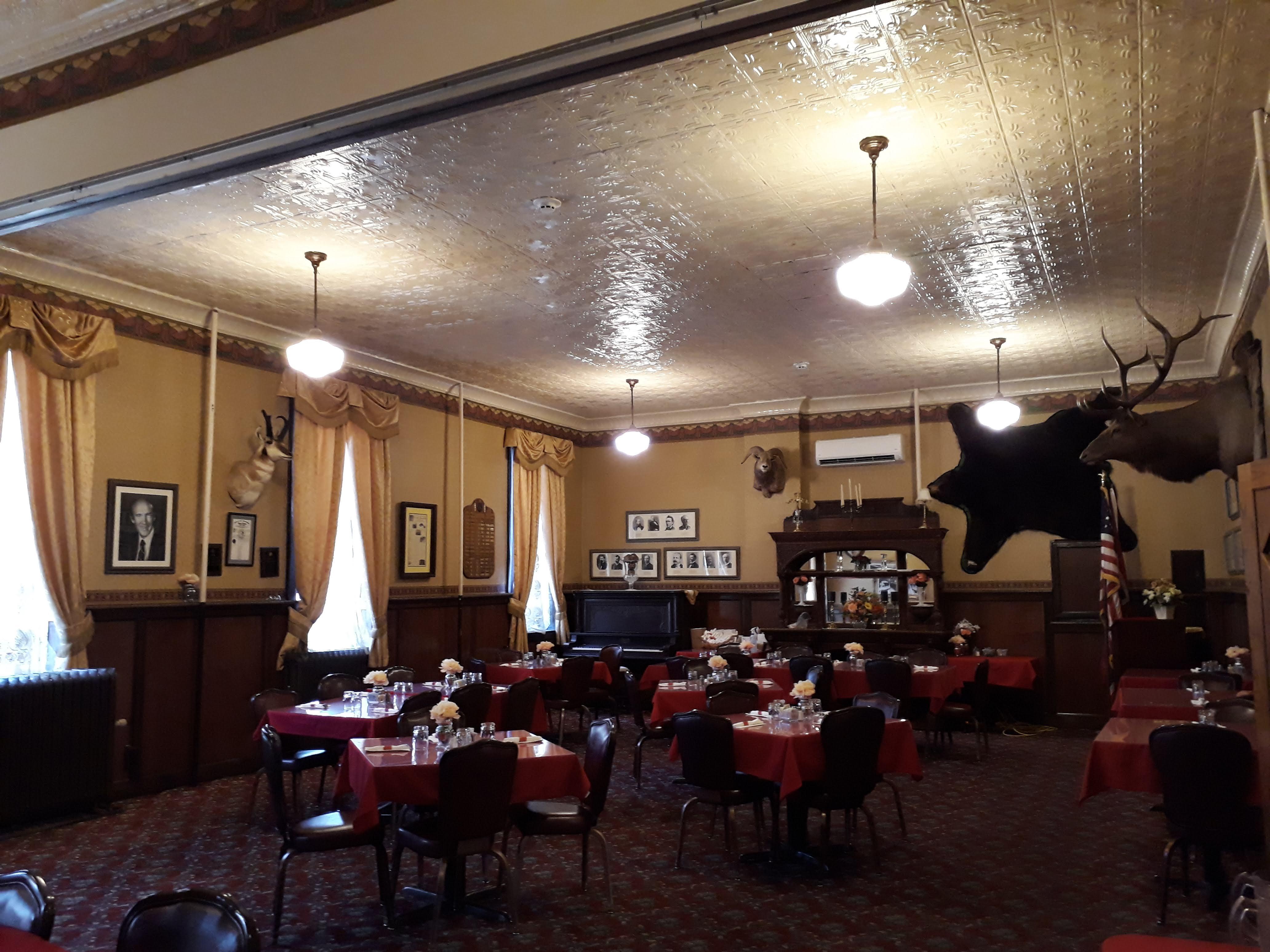 Cody - Wyoming - The Irma Hotel Interior