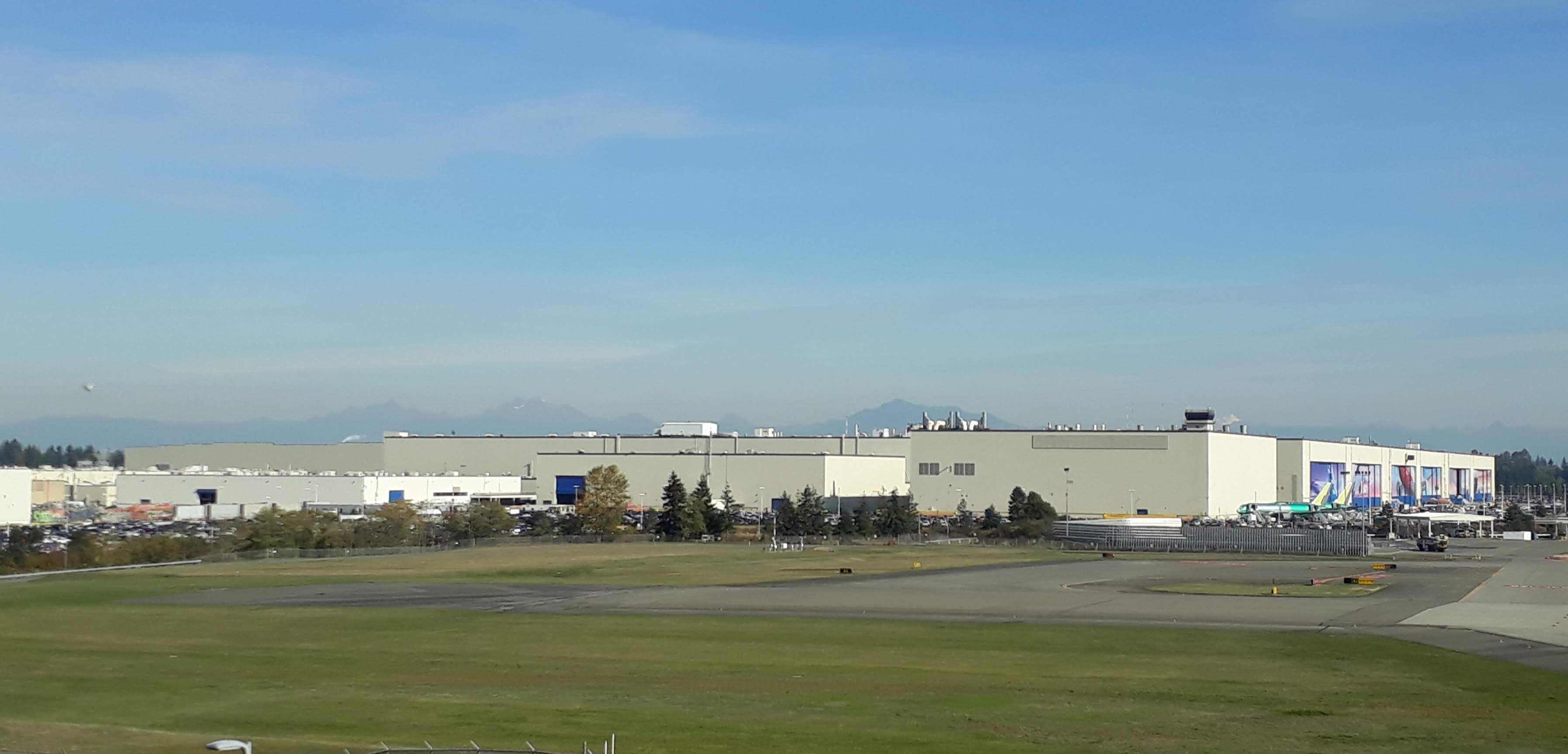 Boeing factory tour - Assembly Building