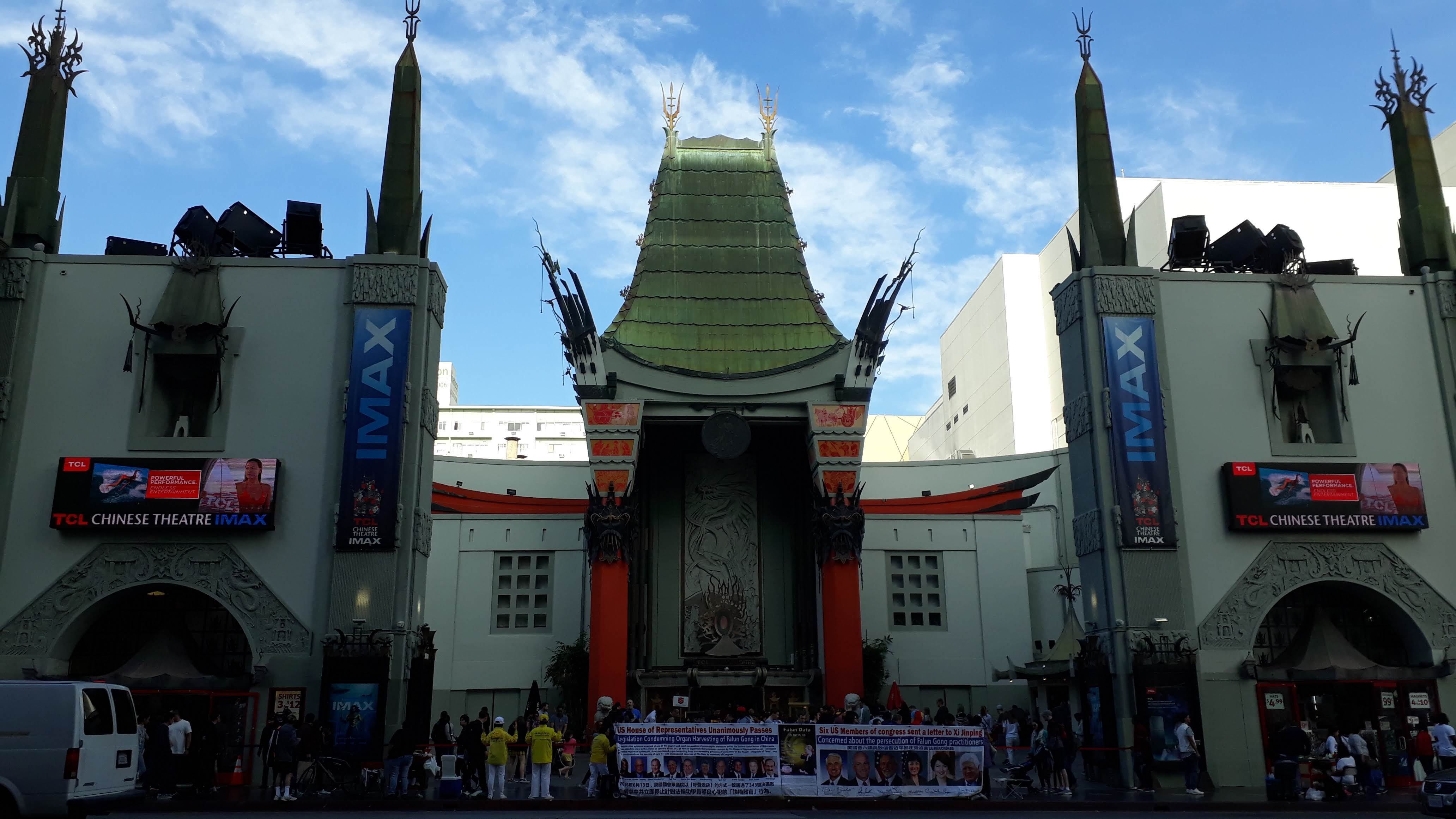 free things to do in Los Angeles - The Chinese Theatre