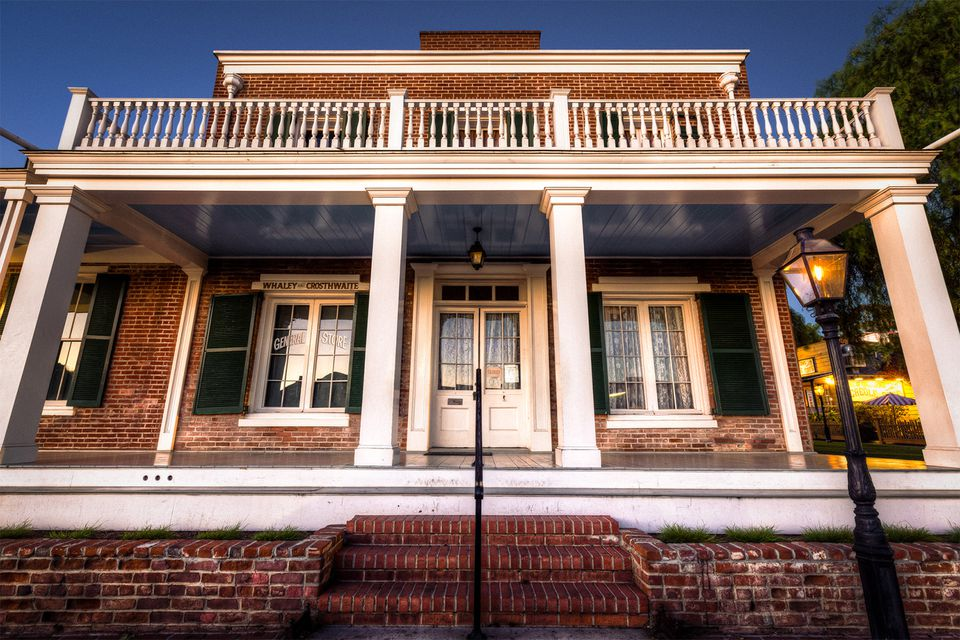 Old Town - San Diego - The Whaley House