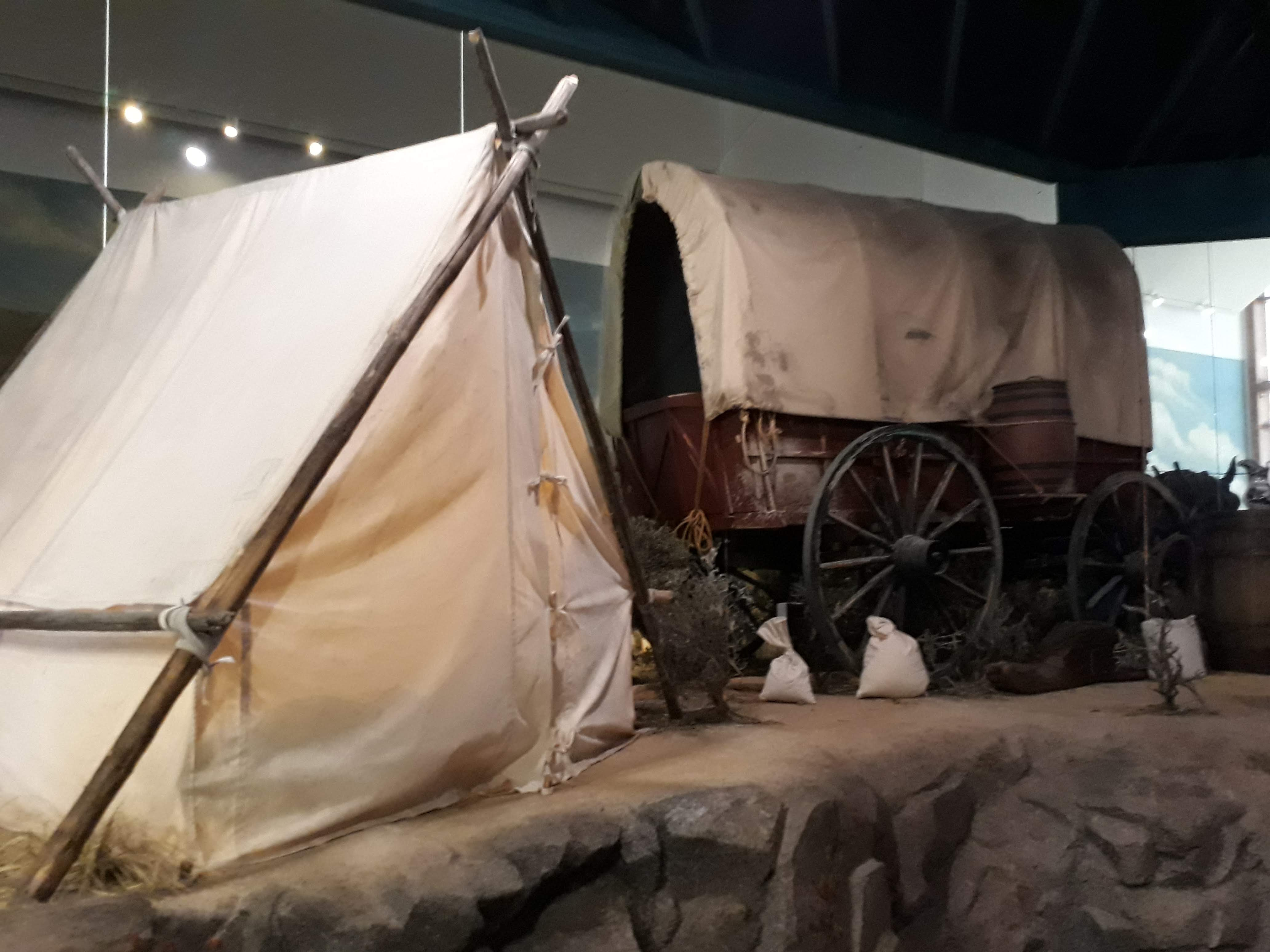 Oregon Trail Interpretive Center - Settlers Camp