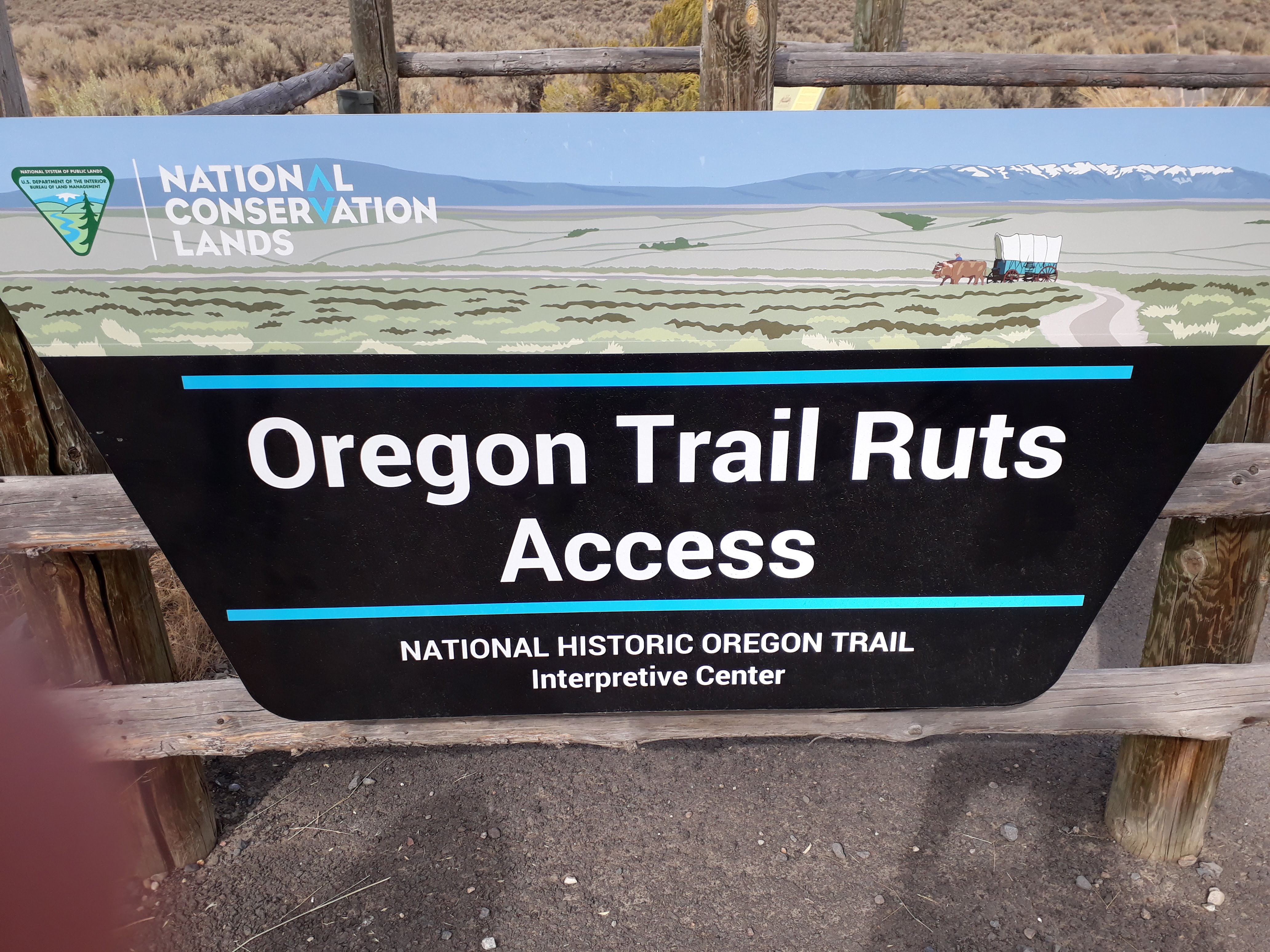 Oregon Trail Interpretive Center - The Ruts