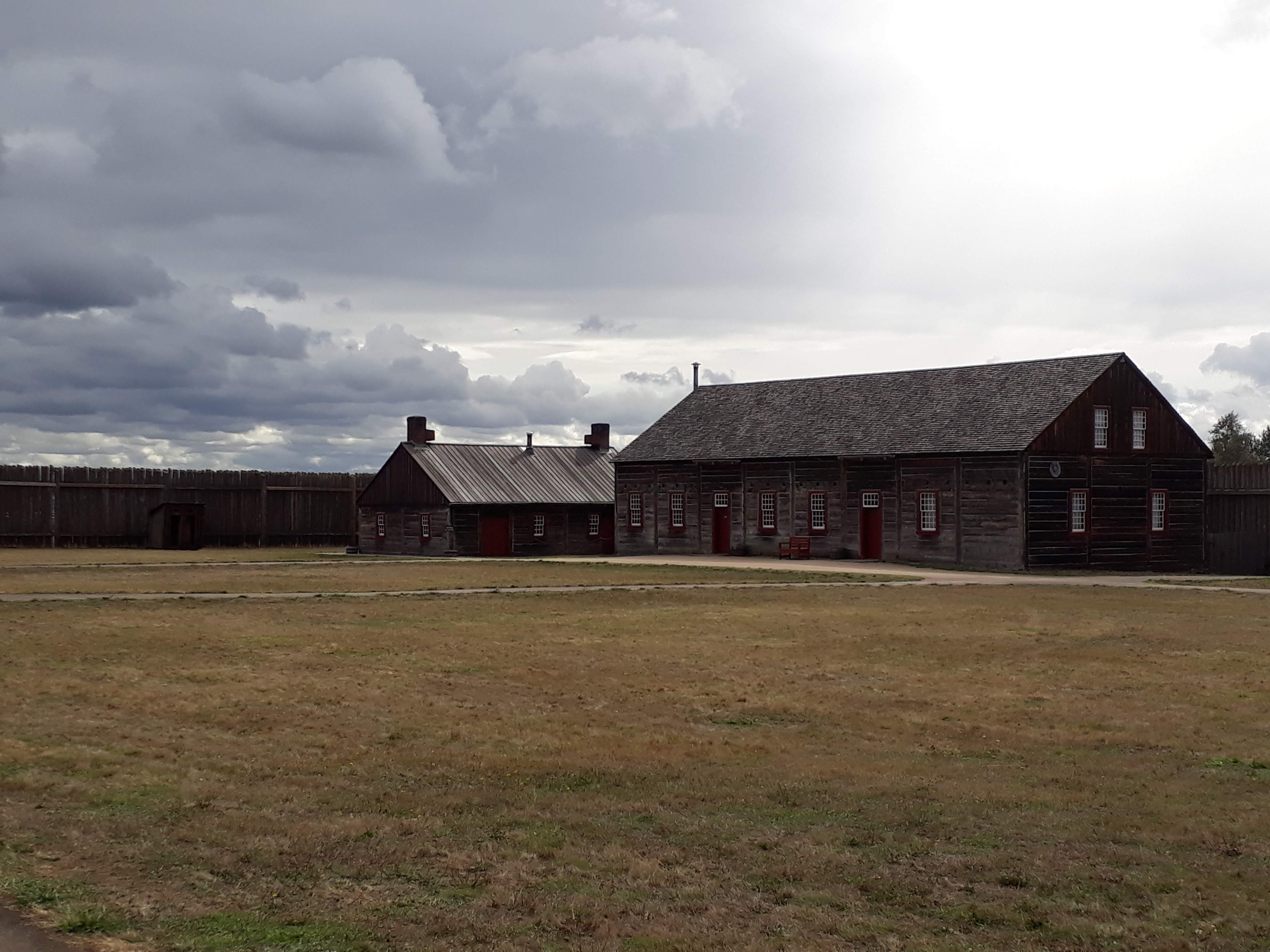visiting Fort Vancouver