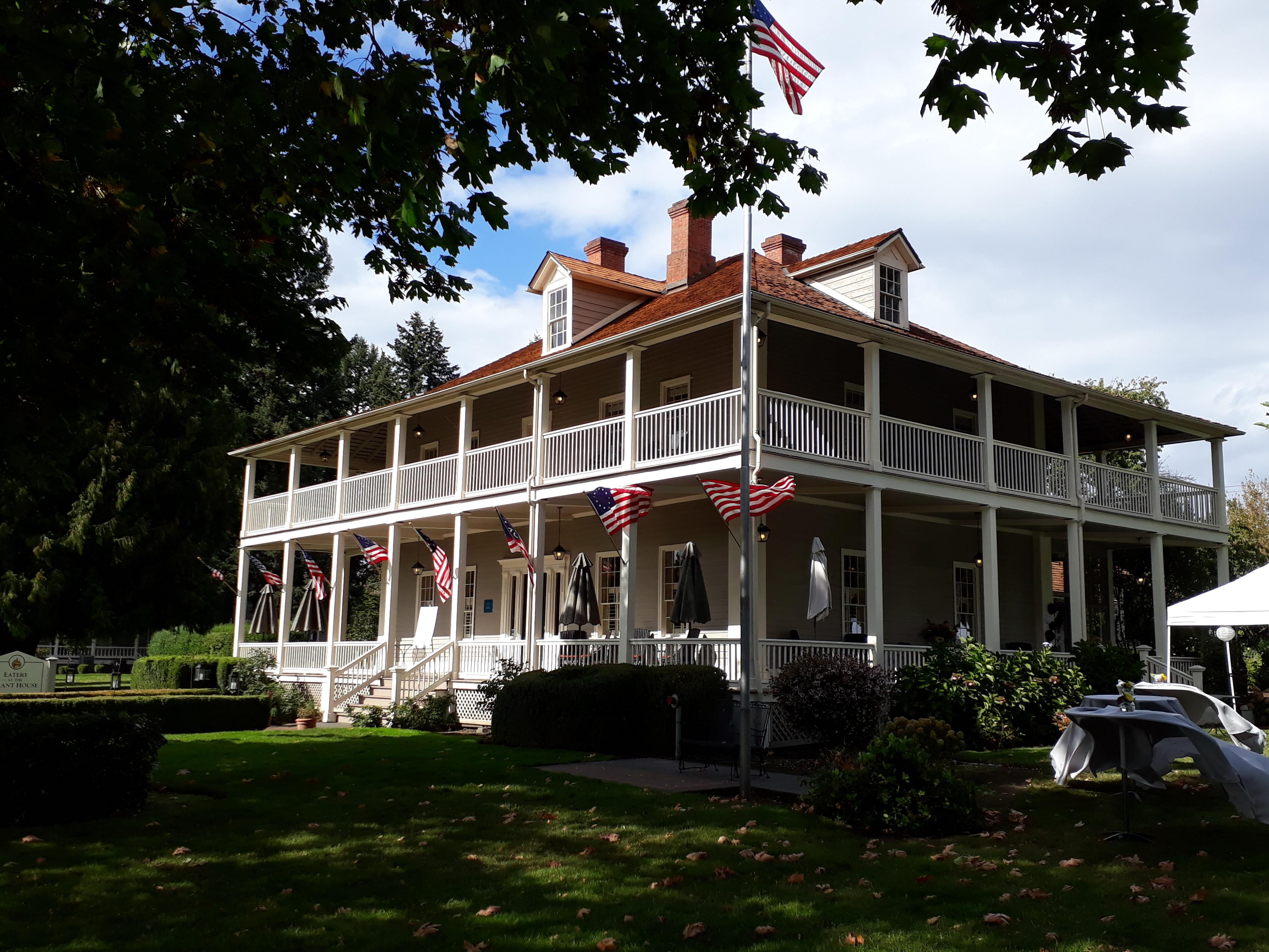 visiting Fort Vancouver - The Grant House