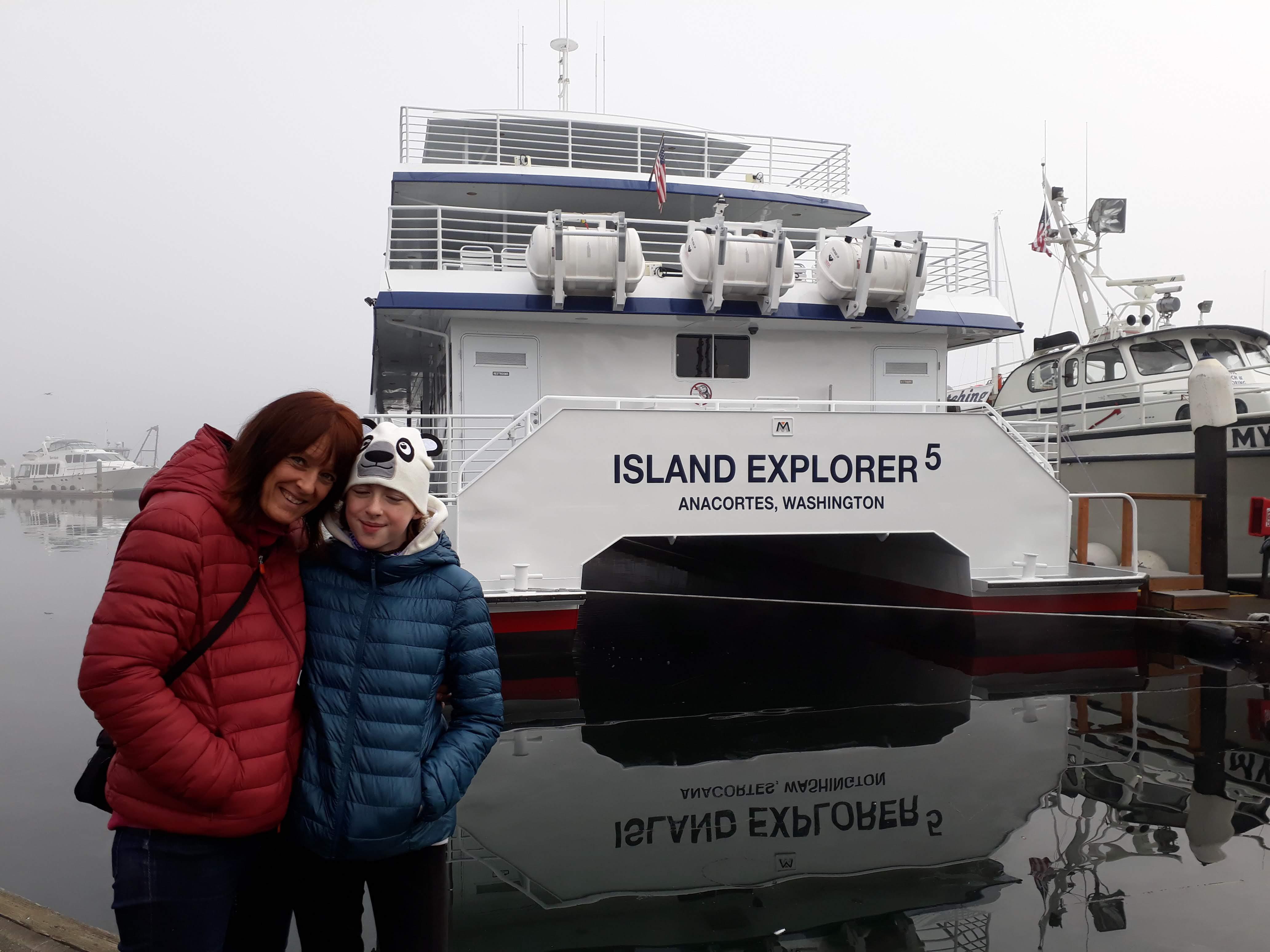 Anacortes whale watching - Island Explorer 5