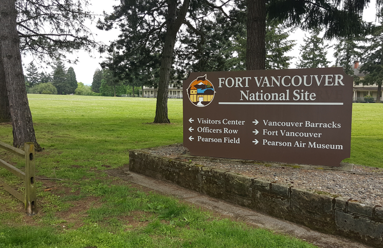 visiting Fort Vancouver - Pearson Air Museum