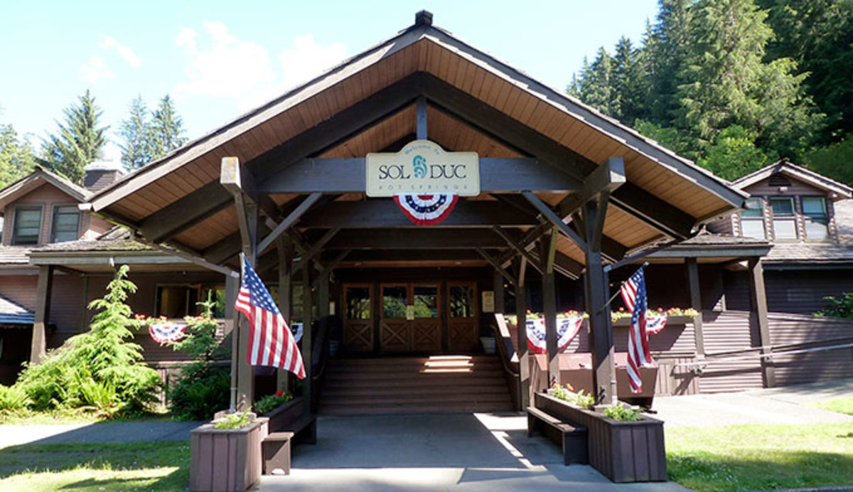 things to do in Olympic National Park - Sol Duc Hot Springs